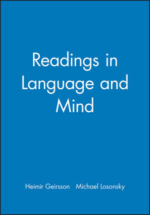 Readings in Language and Mind (1557866708) cover image