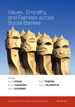 Values Empathy And Fairness Across Social Barriers Volume 1167