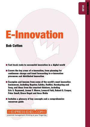 E-Innovation: Innovation 01.03