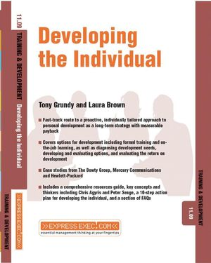 Developing the Individual: Training and Development 11.9