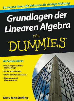 Grundlagen der Linearen Algebra für Dummies