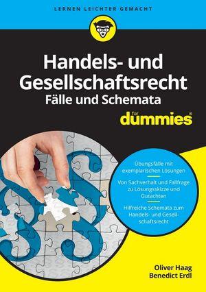 Handels- und Gesellschaftsrecht Falbearbeitung und Schemata für Dummies