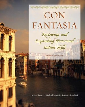 Con Fantasia: Reviewing and Expanding Functional  Italian Skills, 3rd Edition (EHEP000308) cover image