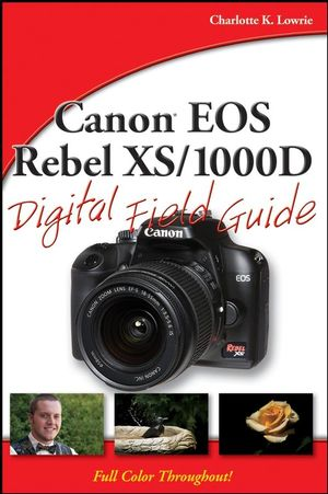 Canon EOS Rebel XS/1000D Digital Field Guide (0470409509) cover image
