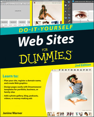 Web Sites Do-It-Yourself For Dummies, 2nd Edition (0470565209) cover image