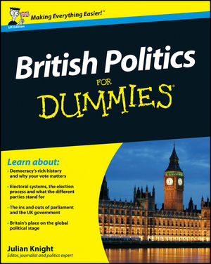 British Politics For Dummies (0470664509) cover image