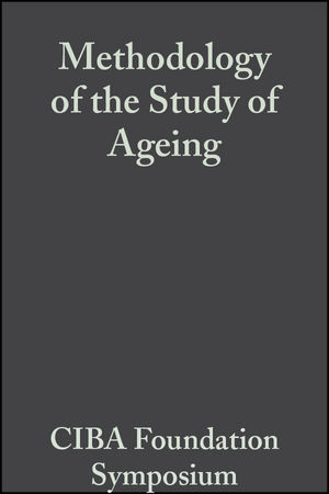 Methodology of the Study of Ageing, Volume 3: Colloquia on Ageing