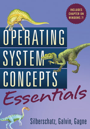 Operating System Concepts Essentials (0470889209) cover image