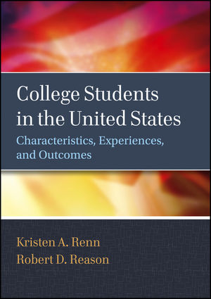 College Students in the United States: Characteristics, Experiences, and Outcomes (0470947209) cover image