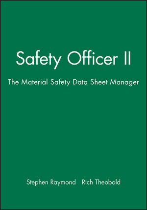 Safety Officer II: The Material Safety Data Sheet Manager, Mac