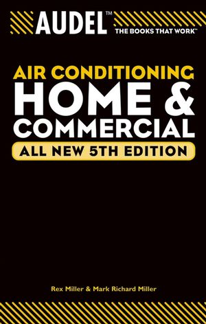Audel Air Conditioning Home and Commercial, All New 5th Edition (0764571109) cover image
