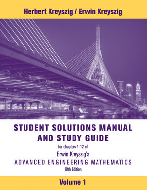 Advanced Engineering Mathematics, Student Solutions Manual, 10th Edition (1118007409) cover image