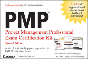 PMP Project Management Professional Exam Certification Kit, 2nd Edition (1118093909) cover image