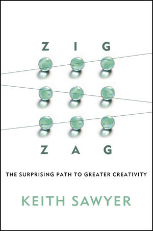 Zig Zag: The Surprising Path to Greater Creativity (1118297709) cover image