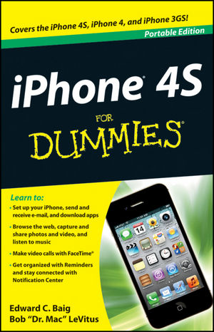 iPhone 4S For Dummies, Portable Edition (1118317009) cover image