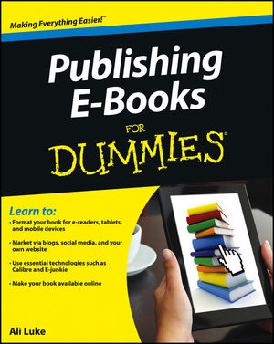 Book Cover Image for Publishing E-Books For Dummies