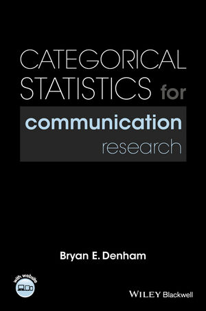 Categorical Statistics for Communication Research (1118927109) cover image