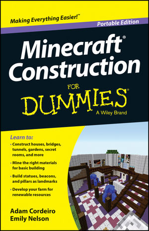 Minecraft <span class='search-highlight'>Construction</span> For Dummies, Portable Edition