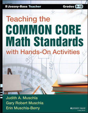 Teaching the Common Core Math Standards with Hands-On Activities, Grades 9-12 (1119062209) cover image