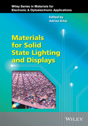 Materials for Solid State Lighting and Displays (1119140609) cover image