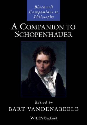 A Companion to Schopenhauer (1119144809) cover image