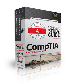 CompTIA Complete Study Guide 3 Book Set, Updated for New A+ Exams (1119303109) cover image