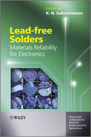 Lead-free Solders: Materials Reliability for Electronics (1119966809) cover image