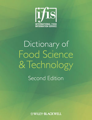 Ifis Dictionary Of Food Science And Technology 2nd Edition