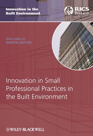 Innovation in Small Professional Practices in the Built Environment (1444316109) cover image