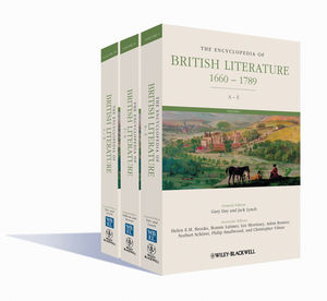 The Encyclopedia of British Literature: 1660 - 1789, 3 Volume Set
