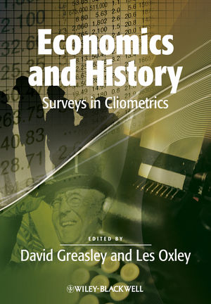 Economics and History: Surveys in Cliometrics (1444346709) cover image