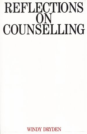 Reflections on Counselling (1897635109) cover image