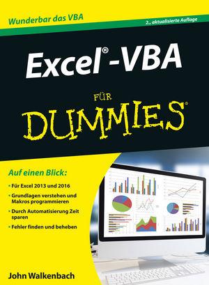 Excel-VBA für Dummies, 2. Auflage