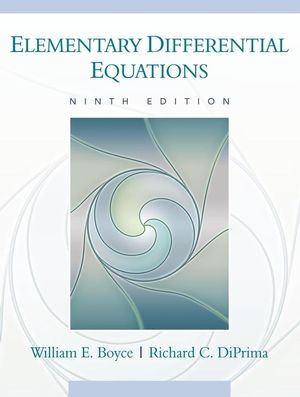 Elementary Differential Equations, Ninth Edition (EHEP001709) cover image