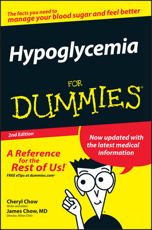 Hypoglycemia For Dummies, 2nd Edition (047012170X) cover image