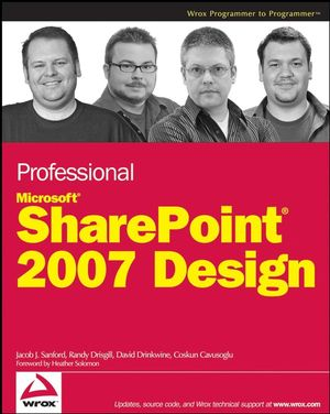 Code downloads for Professional Microsoft SharePoint 2007 Design