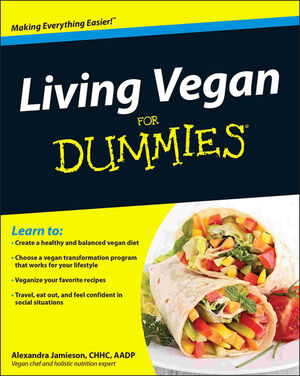 Living Vegan For Dummies (047058520X) cover image