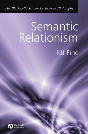 Semantic Relationism (047076600X) cover image