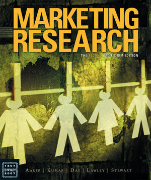 Marketing Research: The Second Pacific Rim Edition