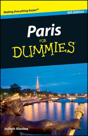 Paris For Dummies, 6th Edition