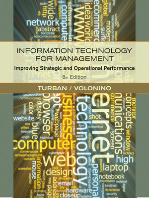 Information Technology for Management: Improving Strategic and Operational Performance, 8th Edition (047091680X) cover image