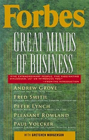 Forbes® Great Minds of Business  (047131580X) cover image