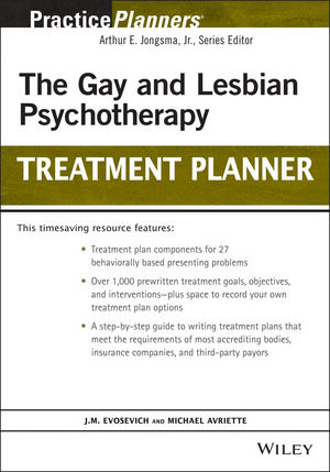 The Gay and Lesbian Psychotherapy Treatment Planner