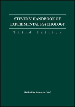 Stevens' Handbook of Experimental Psychology, 3rd Edition