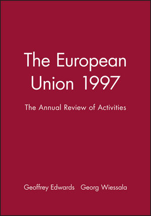 The European Union 1997: The Annual Review of Activities (063121190X) cover image