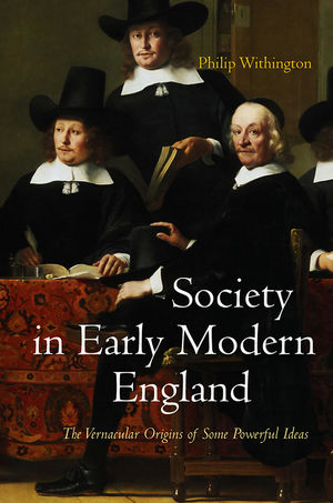 Society in Early Modern England (074564130X) cover image