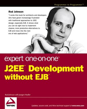 Expert One-on-One J2EE Development without EJB (076457390X) cover image