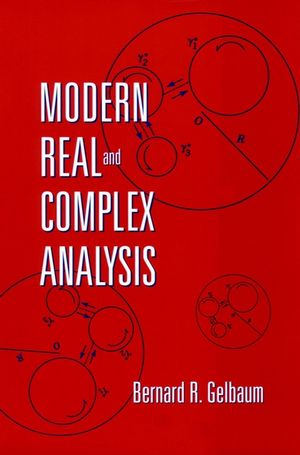 Modern Real and Complex Analysis (111803080X) cover image
