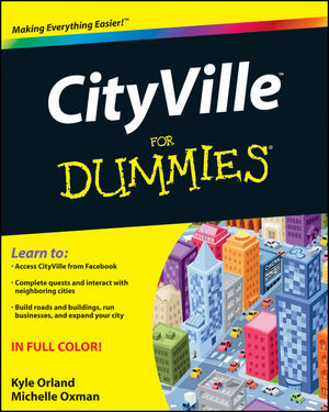 CityVille For Dummies (111810790X) cover image