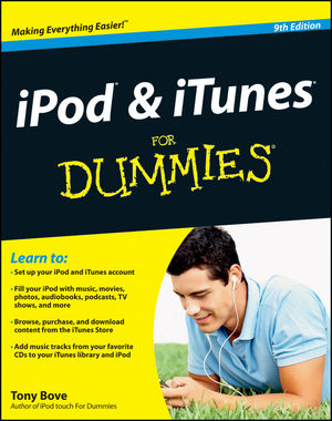 iPod and iTunes For Dummies, 9th Edition